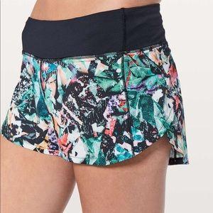 Limited addition Lululemon speed shorts !